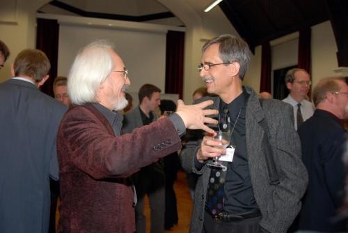 Masaaki Suzuki & Mel Unger at Bach Conference